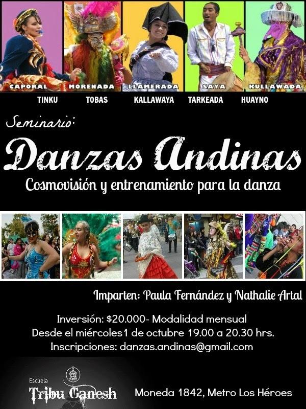 Talleres de Danzas Andinas