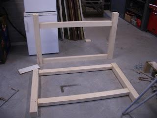 Werkbank frame
