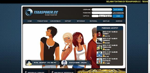 Daftar Poker Online Android Uang Asli TexasPoker