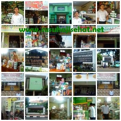 Road show distribusi SUSU HAJI SEHAT di berbagai kota