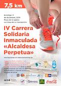 IV CARRERA INMACULADA ALCALDESA PERPETUA LA LINEA