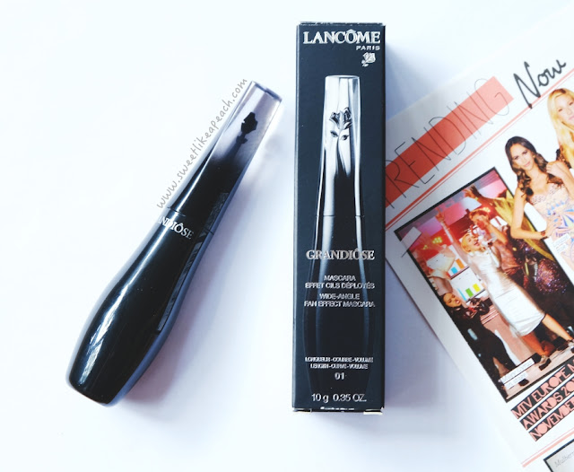 Lancome Grandiose Mascara review by Indonesian beauty blogger