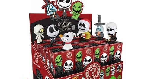 The Blot Says...: The Nightmare Before Christmas Mystery Minis ...