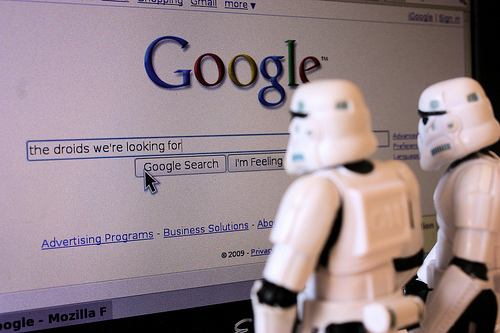 Google Storm Troopers Semi Wordless Wednesday