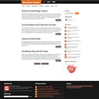 Template Eleven40 giao diện Premium Wordpress