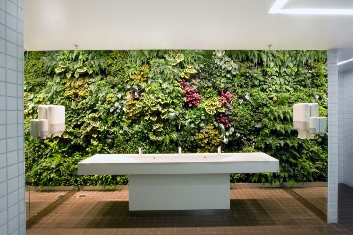 jardim vertical no banheiro:Varandas salas cozinhas banheiros e  #4A5F23 1200x798 Banheiro Com Jardim Vertical