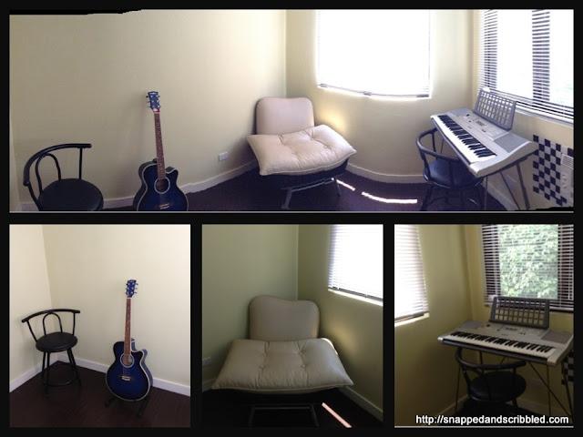 The Music Room at Casa Paradiso