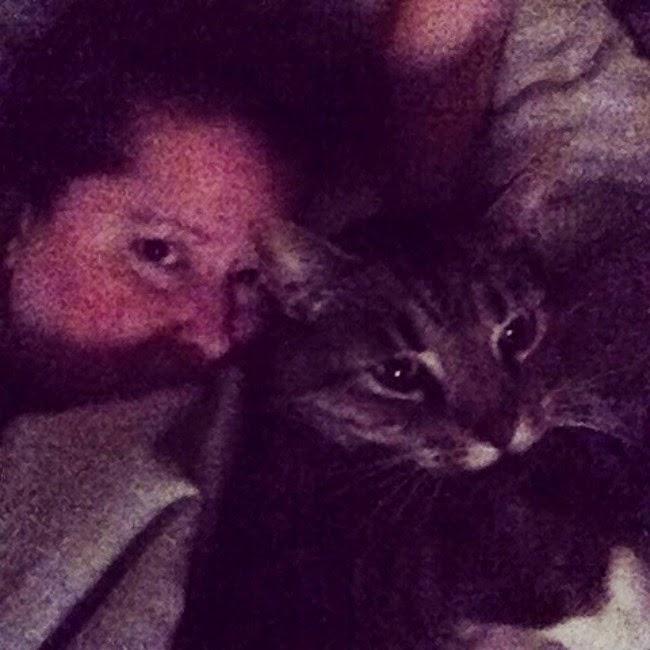 cuddles with Jinx
