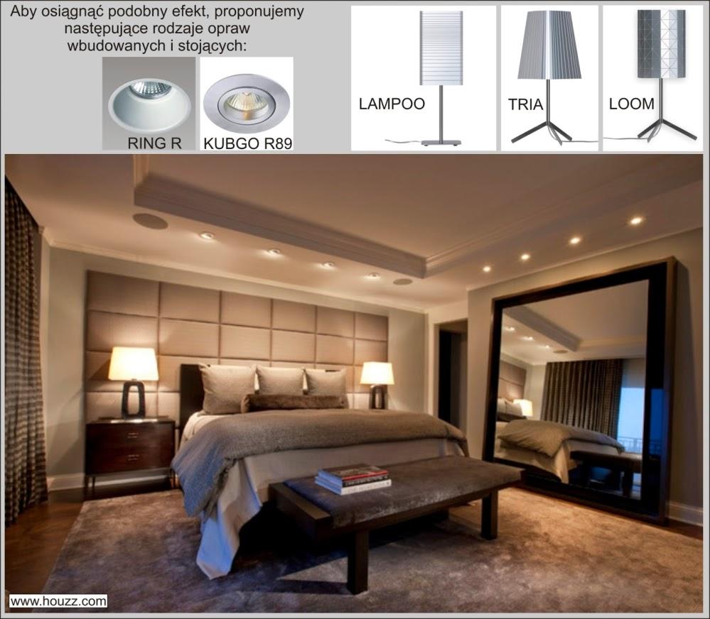 Znajdź Własne źródło światła Pomysł Na Aranżację Sypialni
