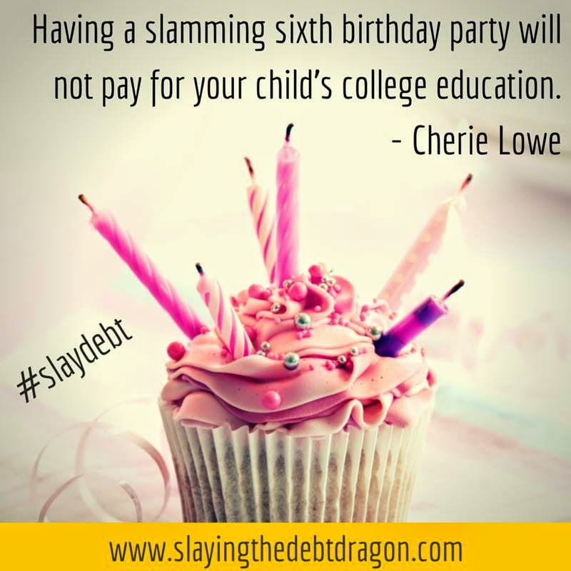 Having a slamming sixth birthday party will not pay for your child's college education. Here's a way for a low-key, low-budget party that the boys will remember.