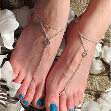 Kelly Albanese, simple silver anklets in Brazil, best Body Piercing Jewelry