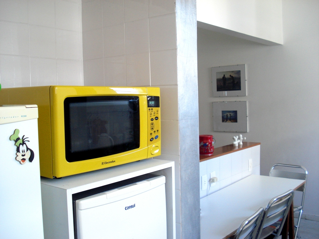 7 sitios donde colocar el microondas