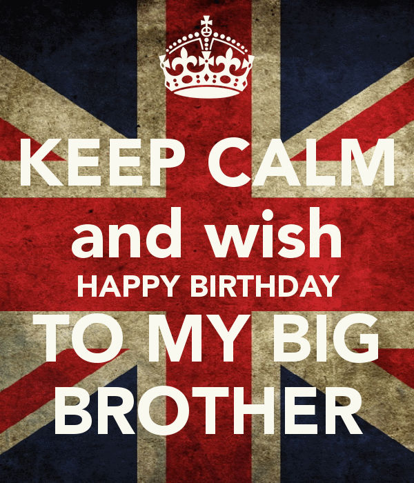 Birthday Wishes Elder Brother