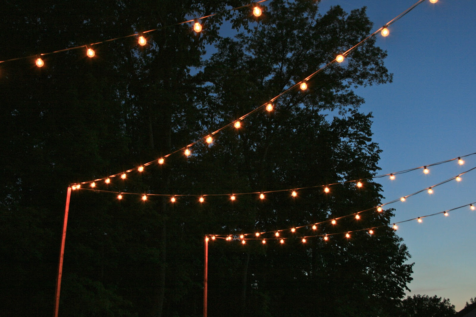 Cafe Lights  Back Deck | California Living. | Pinterest | Wedding And  Weddings