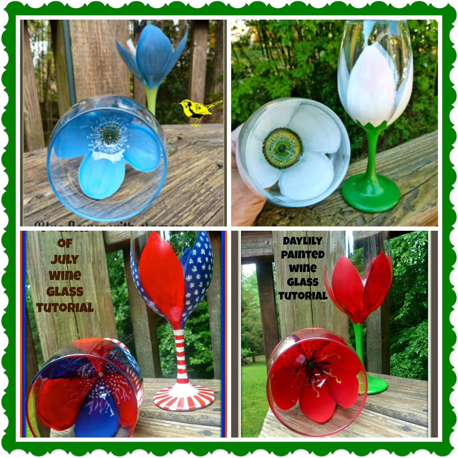 Make it easy crafts 4 painted wine glass tutorials for Wine glass painting tutorial