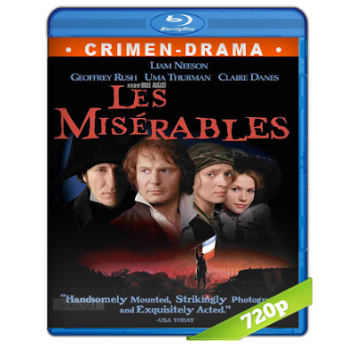 Los Miserables (1998) BRRip 720p Audio Trial Latino-Castellano-Ingles 5.1