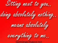 Sitting next to you doing absolutely nothing