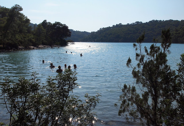 Swimming hole - Croatia