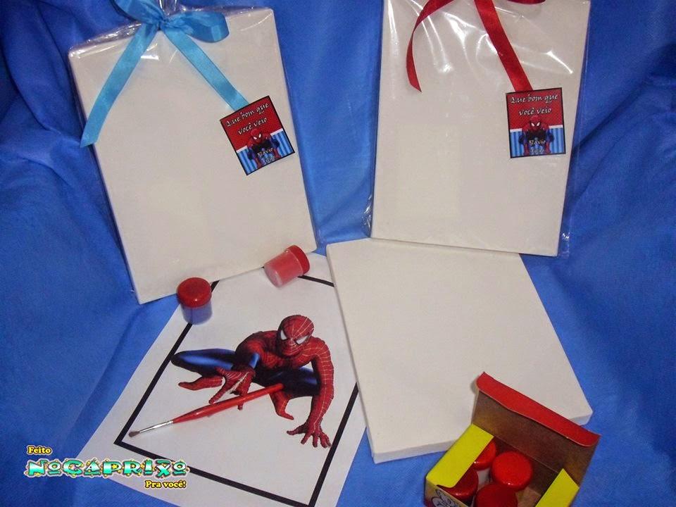 Kit de Pintura Homem Aranha