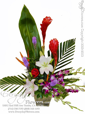 Tropical Flowers by Everyday Flowers