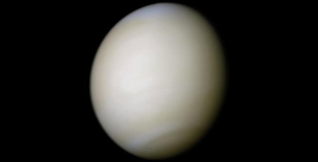 Venus in real color. Credit: NASA