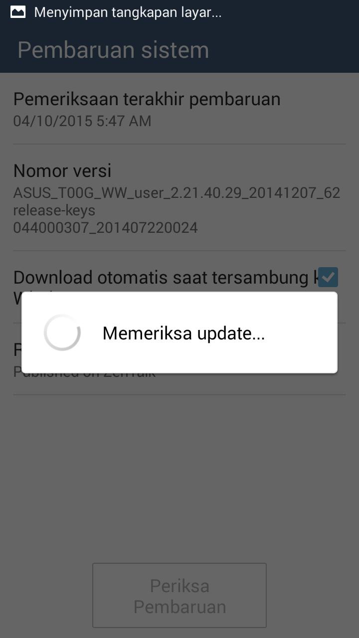 Cara Update Asus Zenfone 5 Ke Android 4.4 Kitkat