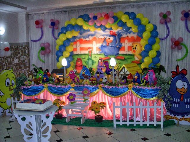 Tema da Galinha Pintadinha - festa infantil