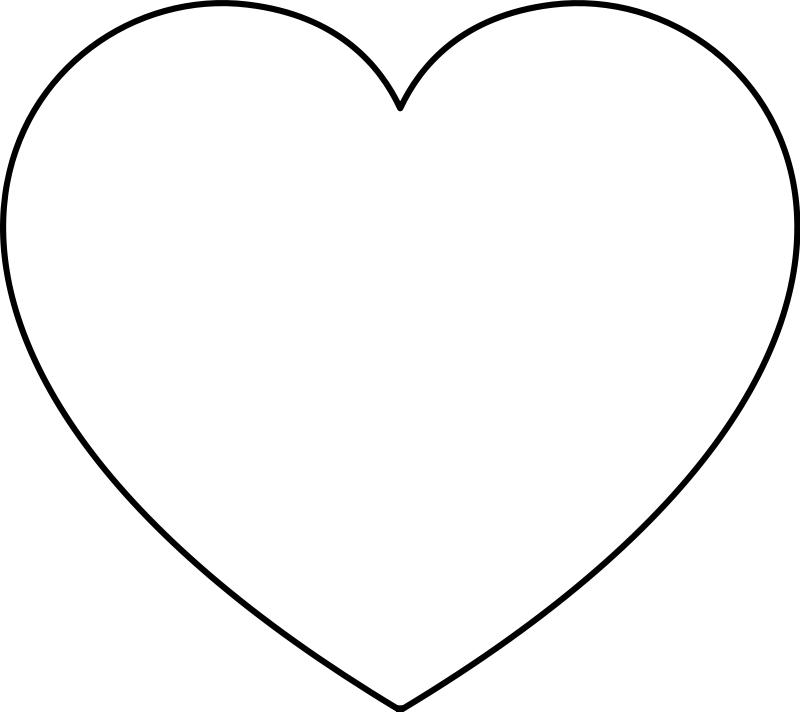 Dibujo con corazon para colorear | Desmotivaciones tristes