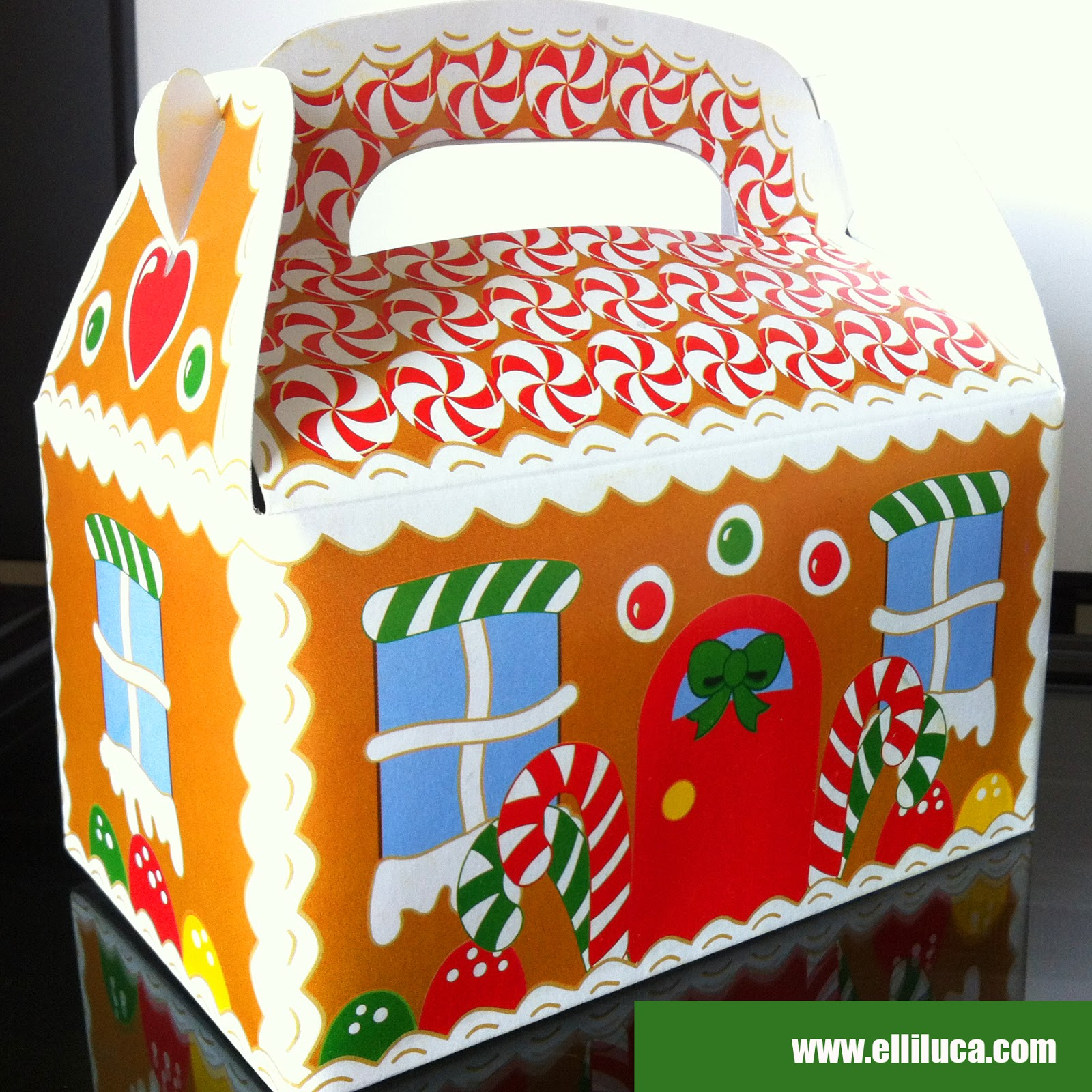 ... Elle's Kitchen): ※ New in Store - Gingerbread House Gift Boxes