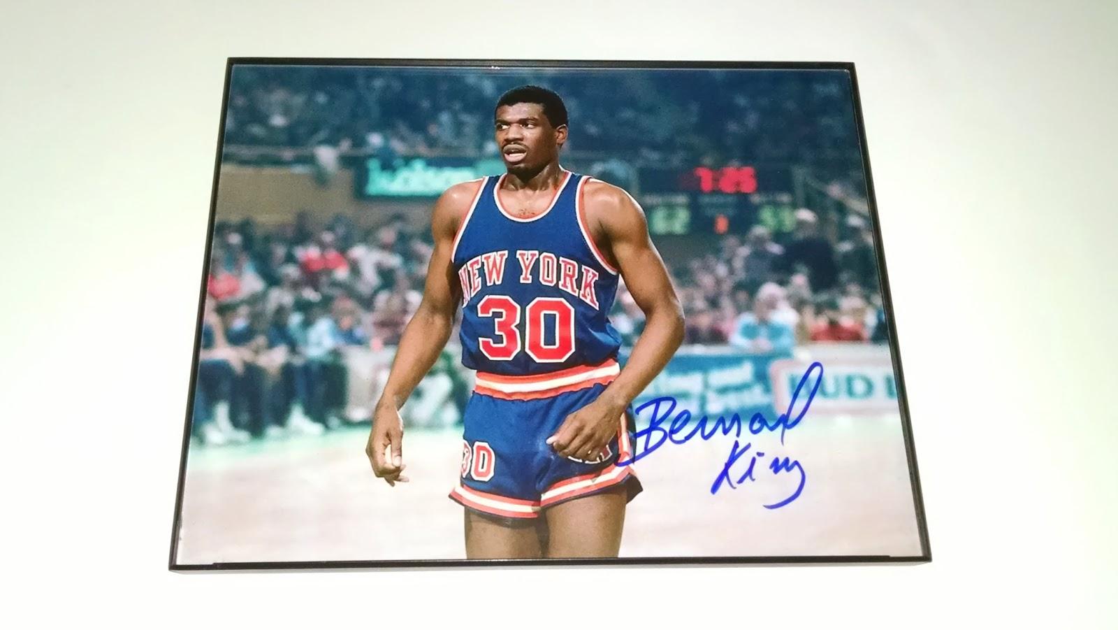 Jonathan s Autograph Signings Bernard King 03 22 14