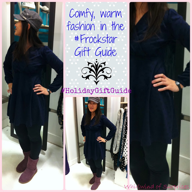 #Frockstar #holidaygiftguide -dresses from Karina Dresses, versatile #fashion
