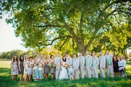 Leslie and Ryan, wedding party, McGowan Images, bridesmaids, groomsmen, house party, ushers, readers