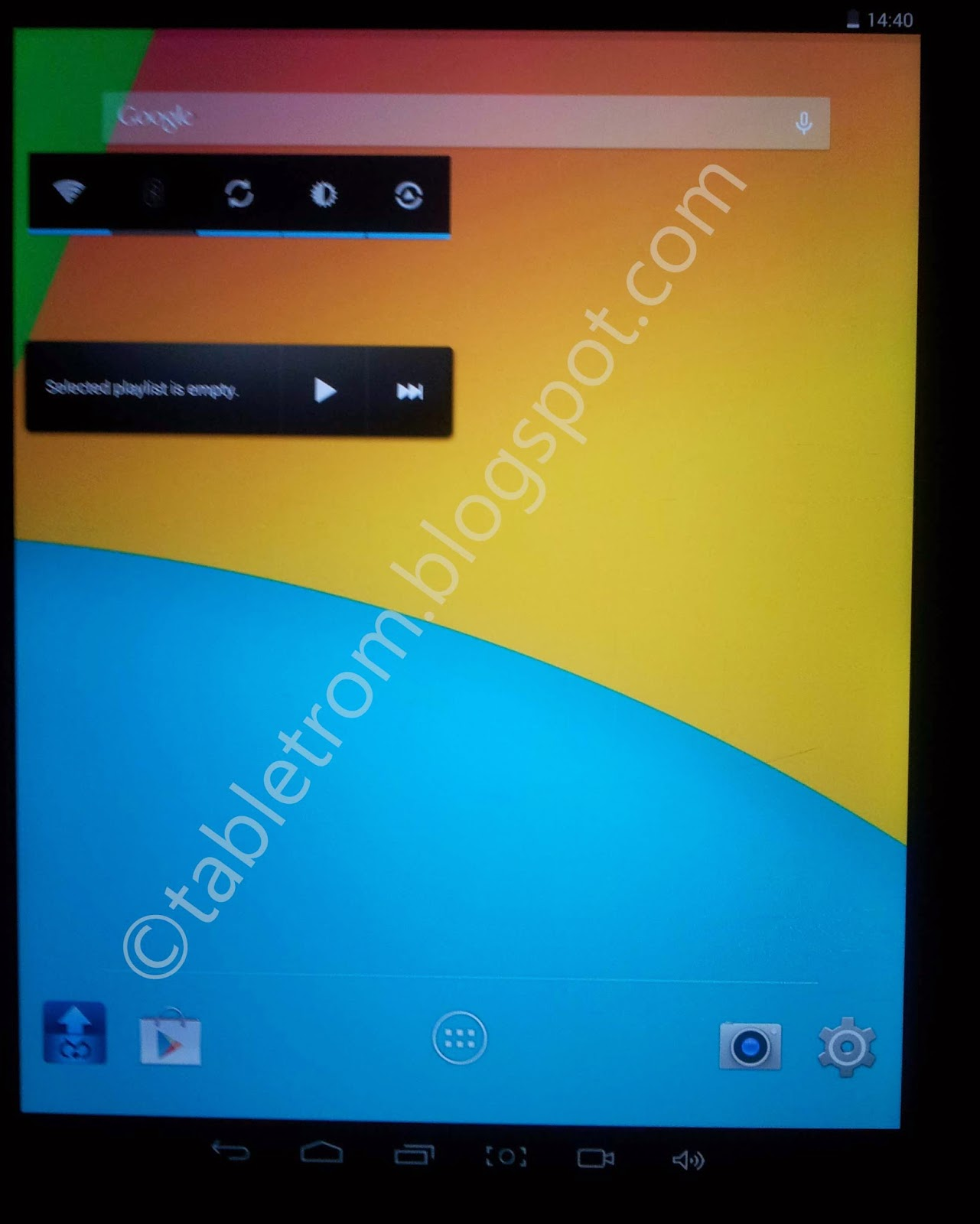how to flash a tablet Action Chip ATM 7039