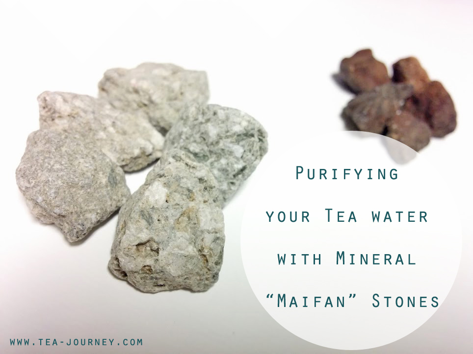 Purify your water with Mineral Maifan stones. Medicine stones from China. They make great water for tea, rice and for drinking.