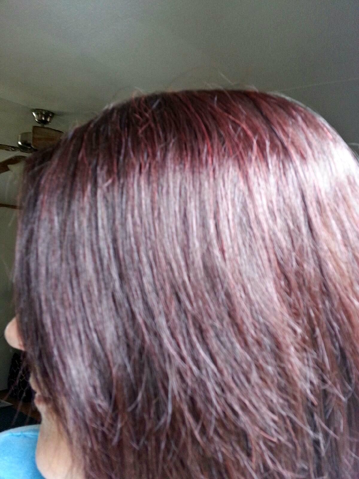 Dunkel Rote Haare