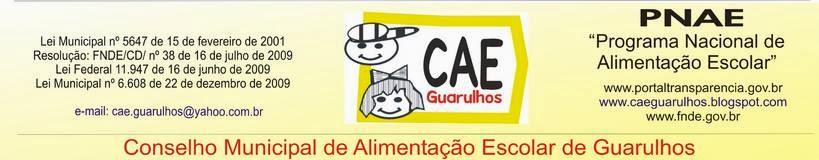 Conselho de Alimentação Escolar de Guarulhos (CAE)