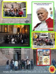 3 Cenacoli di Preghiera: Zagarolo - Milano & Trento