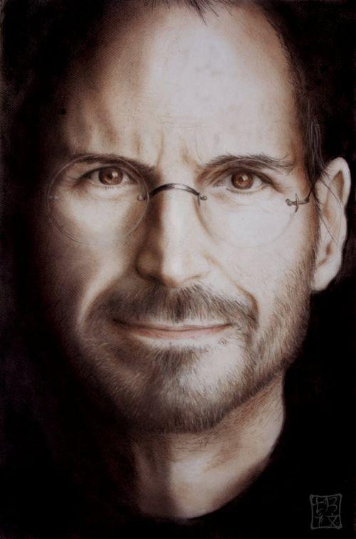 40 Lukisan Steve Jobs yang Mengagumkan: Steve Jobs Portrait