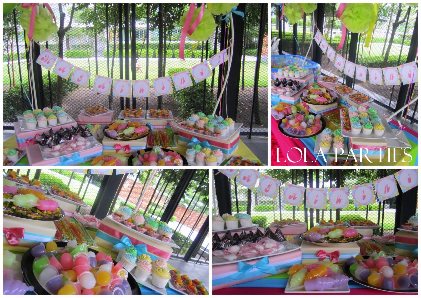Buffet Decoration Ideas