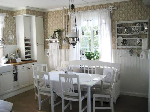 What 39 s my style town country living for Cottage style kitchen decorating ideas