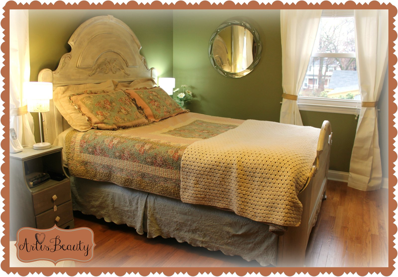 Art is beauty shabby chic french master bedroom makeover for French master bedroom