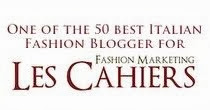 LES CAHIERS CLASSIFICA FASHION BLOGGERS ITALIANI