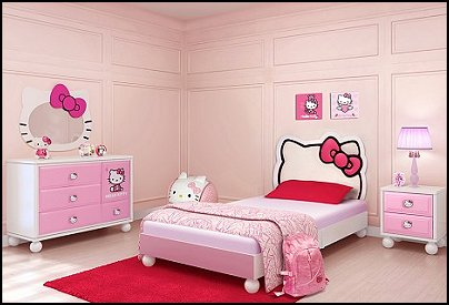 Hello Kitty bedroom ideas - Hello Kitty bedroom decor | Home ...