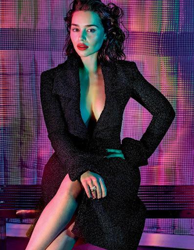 Emilia Clarke – GQ Magazine October 2015 photo shoot