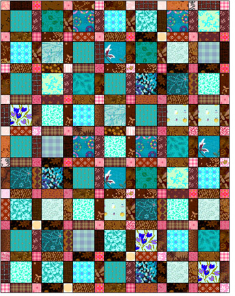 Square Quilt Patterns Free : Beth Donaldson: Quiltmaker: Free Quilt Patterns