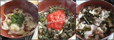 Seppie in zimino ricetta tradizionale secondi piatti di pesce