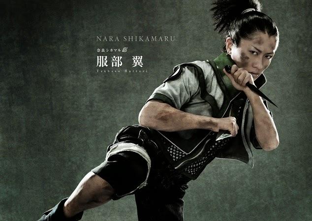 Tsubasa Hattori as Nara Shikamaru