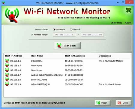 WiFi Network Monitor 1.0 softwikia