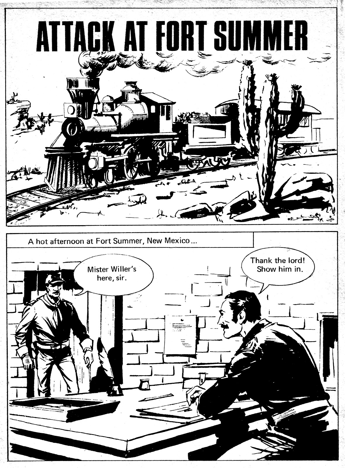 Tex Willer Comics English – Produced By Valerie Hussey ...