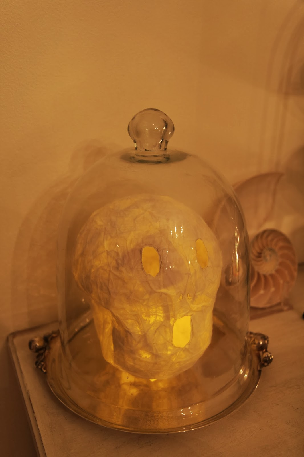Glowing Skeleton; Hauntify Your House for Halloween